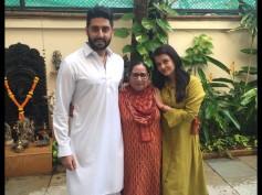 Heart Touching Picture! Aishwarya Rai & Abhishek Bachchan Pose With Sarabjit's Sister Dalbir Kaur