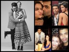 Sweeter Than Chocolate! Karan Johar's Bonding With B-town Gorgeous Divas (Birthday Special Pictures)
