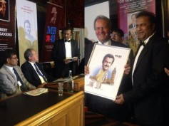 Mohan Babu's Dialogue Book Launched In British Parliament