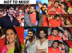 PHOTOS: Oka Manasu Audio Highlights, Ram Charan, Allu Arjun, SDT & Varun Wishes Niharika The Best