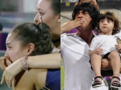Shahrukh Khan Showers His Love On KKR Cheerleaders!