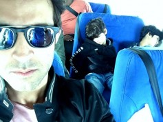 OMG! Hrithik Roshan & His Kids Were At The Istanbul Airport Few Hours Before The Terrorist Attacks
