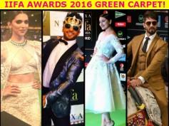 IIFA Awards 2016 Pictures: Salman, Deepika, Ranveer, Sonakshi & Others Set The Green Carpet On Fire!