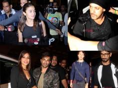 The Fun Begins! Salman Khan, Bipasha-Karan, Shahid Kapoor & Others Leave For IIFA 2016 (Pictures)