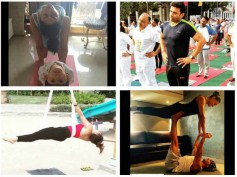 International Yoga Day: TV Celebrities – Hina Khan, KSG, Rubina Dilaik… Snapped Practising Yoga!