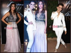Photos! Beauty Queens Kangana Ranaut & Lara Dutta Spotted Together At Miss Universe India 2016 Event
