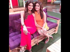 Shilpa Shetty, Hubby Raj Kundra And Sister Shamita Shetty On The Kapil Sharma Show! [PICS]