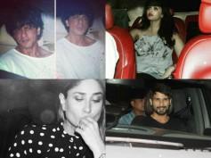 Karan Johar's Party Pictures! SRK, Aishwarya, Shahid, Kareena & Many Other Celebs Were In Attendance