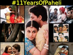 11 Years Of Paheli: Beautiful Unseen Pictures Of Shahrukh Khan, Rani Mukerji & Big B From The Sets!