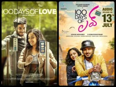 Dulquer Salmaan-Nithya Menen Starrer 100 Days Of Love Goes To Telugu!