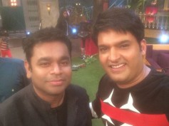 Music Maestro A.R. Rahman On The Sets Of The Kapil Sharma Show! [PICS]