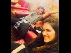 Ahem Ahem! Kriti Sanon Rings In Her Birthday With Her 'Raabta' Lover Sushant Singh Rajput!