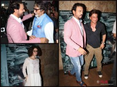 WOW! Madaari Special Screening Pictures; Shahrukh, Big B, Kangana & Others Watch Irrfan Khan's Film