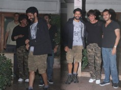 Pictures! Shahrukh Khan, Farhan Akhtar & Ritesh Sidhwani Spotted Outside Excel Productions Office