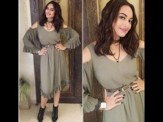 Illegally Gorgeous! Sonakshi Sinha Goes 'Bindaas' At Akira Trailer Launch [Exclusive Pics]