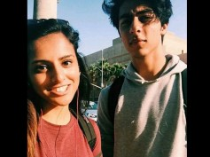 Who Is She? SRK's Son Aryan Khan Spotted With His New Friend At The California University