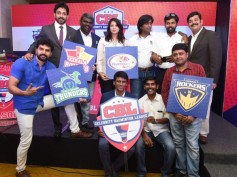 Celebrity Badminton League Flagged Off