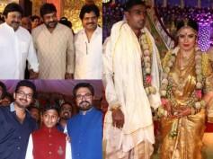 PICS: Celebs At Radhika Sarathkumar's Daughter Rayane-Abhimanyu Mithun Wedding