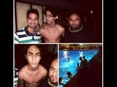 Aryan Khan Flaunts His Abs At A Pool Party!
