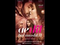 Ae Dil Hai Mushkil FIRST LOOK: Ranbir Kapoor & Aishwarya Rai Bachchan Share A Hot Chemistry!
