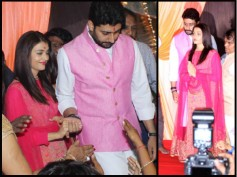 NEW PICTURES! Aishwarya Rai & Abhishek Bachchan Perform Ganesh Aarti In Mumbai; Look So Gorgeous!