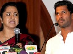 Raadika Lashes Out At Vishal & Karthi For Suspending Sarathkumar
