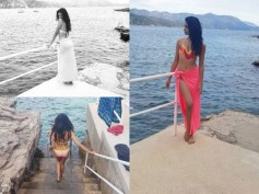 Must See Pics! Sarah Jane Dias Holidays In Croatia