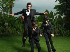 Hrithik Roshan's New Picture With His Kids Can Give 'Men In Black' A Complex!