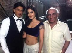Don't Miss! Katrina Kaif Shares Unseen Pic With Shahrukh Khan-Yash Chopra From Jab Tak Hai Jaan Sets