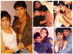 Once Engaged Now Strangers! Akshay Kumar & Raveena Tandon's Romantic Pictures That You Can't Miss!