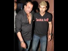 Shocking! A Drunk Sanjay Dutt Insults Ranbir Kapoor At A Party; Makes Fun Of Him
