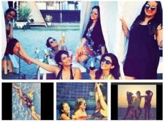 PICS: Kishwer Merchant & The Girl Gang Sizzle In Bikini At Her Bachelorette Party