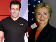 Salman Khan Supports Hillary Clinton For President!