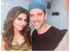Urvashi Rautela Has A 'Fan Girl' Moment With Hrithik Roshan!