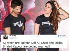 CRAZY PEEPS! Love Story Of Kareena's Son Taimur Ali Khan & Shahid's Daughter Misha Trends On Twitter