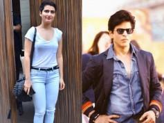 Creepy! Dangal Girl Fatima Sana Shaikh On 'Touching' Shahrukh Khan