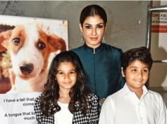 Raveena Tandon's Kids Get Awarded By An Animal Welfare NGO!