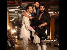 Somebody Cast Them Together! Varun Dhawan & Arjun Kapoor Indulge In Bromance At A Fashion Show!