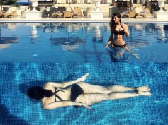 Bikini Diaries! Amyra Dastur Chills By The Pool In Colombo