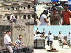 VIRAL: 'Padman' Akshay Kumar & Radhika Apte Shoot A Love Song In Maheshwar; Check Out All Pics!