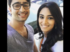 SURPRISE! Shaheer Sheikh Gets The Best Birthday Gift From His KRPKAB Co-star Erica Fernandes!