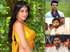 Shruthi Haasan, The Lucky Mascot For Mega Family Proves Favorable Again!