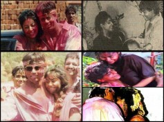 Where Is This LOVE GONE? Shahrukh Khan & Gauri Used To Celebrate Holi Like This (THROWBACK Pictures)