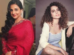 Vidya Balan On Kangana's Nepotism Remark- 'Let's Not Forget That Human Beings Have Favourites'