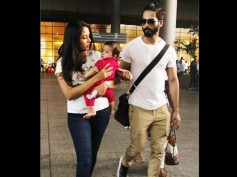 Damn, She Is SO CHARMING! Finally, Shahid Kapoor & Mira Rajput Let Paparazzi Click Misha's Pictures