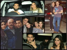 THEY'RE BACK! Deepika & Ranveer Party With Kareena, Alia & Sidharth At Karan Johar's House [PHOTOS]
