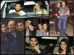 THEY'RE BACK! Deepika & Ranveer Party With Kareena, Alia & Sidharth At Karan Johar's House [PHOTOS]