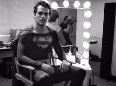 Henry Cavill Spotted In Christopher Reeve's Superman Suit