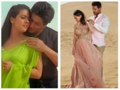 Keith Sequeira & Sanjeeda Sheikh Recreate Shahrukh Khan & Kajol's Song 'Suraj Hua Maddham'
