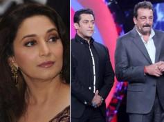 UNBELIEVABLE! Madhuri Dixit RESPONSIBLE For Salman Khan & Sanjay Dutt's Ugly Fight!